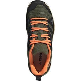 adidas TERREX AX2R Scarpe da trekking Leggero Bambino, wild pine/core black/screaming orange